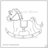 Rocking Horse Digital Stamp