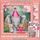 Little Pink Elephant 8x8 Mini Kit
