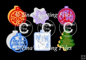 Christmas Gift Tag /card Toppers selection