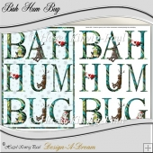 Humorous Christmas Card (BAH HUM BUG)