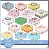 Square Gift Box Bundle