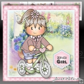Jodie on Bike Mini Kit