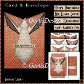 All Men Card Kit With Envelope 4