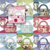 10 Handbag Card Kits - SET 7