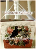 Victorian Love Birds Large Handled Gift Box
