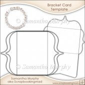 Bracket Card/Invitation Insert & Envelope Commercial Use Ok