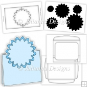 Pop Up Card Template CU