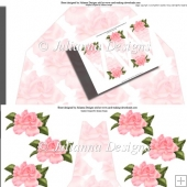Pink Rose Stand Alone Fan Kit