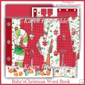 Baby'sChristmas Word Book