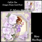 Call for You - Octagon Frame Card Front