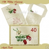 40th Wedding Anniversay Card