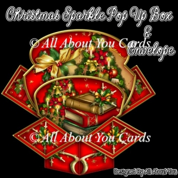 Christmas Sparkle Pop Up Box