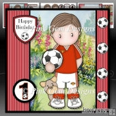 Football Andy Mini Kit with Ages