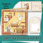 Spirit of Christmas Square Card Kit