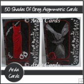 50 Shades Of Grey Asymmetric Cards
