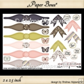 Paper Bows 3
