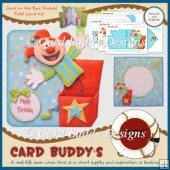 Jack in the Box Shaped Fold Card Kit