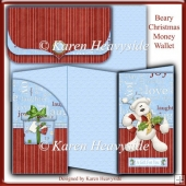 Beary Christmas Money Wallet