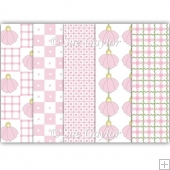 Pretty in Pink Backing Papers