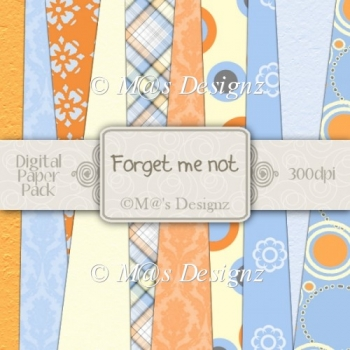 Forget-Me-Not Paper Pack