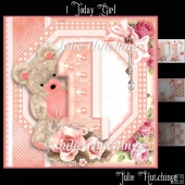 1 Today Girl Card Front Kit