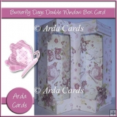 Butterfly Days Double Window Box Card