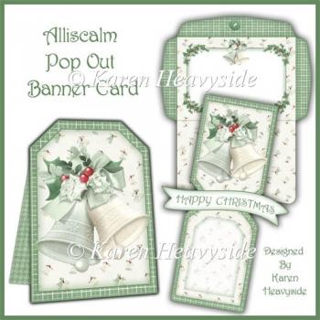 Alliscalm Pop Out Banner Card