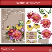 Card Front - Breath Of Summer