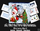Ho Ho It's Christmas Diorama Card