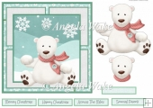 Polar bear fun 7x7