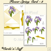 Flowers Spring Card - 3