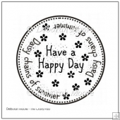 Daisy Chain Of Summer Digital Stamp/Sentiment
