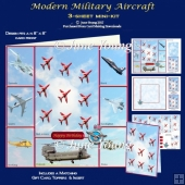 Modern Military Aircraft - 3-Sheet Mini-Kit