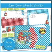 Super Duper Waterfall Card Kit