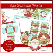 Flight School Bronze Party Set
