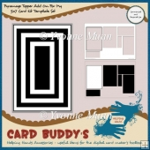 Pyramage Topper Add On for my 5x7 Card Kit Template Set