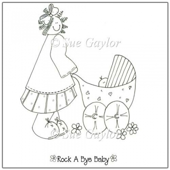 Rock a Bye Baby Digital Stamps/Line Art
