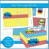 Hero Time Large Gift Box
