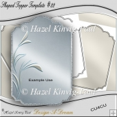 Shaped Topper Template #22