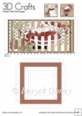 Santa & Snowman - Double Take Decoupage PDF Download
