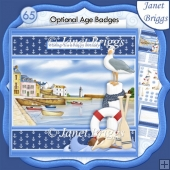 HARBOUR VIEW 7.5 Decoupage Ages & Insert Kit