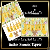 Easter Bunnies Topper