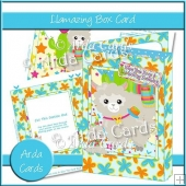 Llamazing Box Card