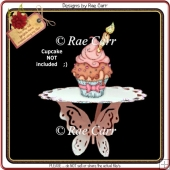 673 Cupcake Butterfly Stand *Multiple MACHINE Formats*