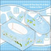 Catch Of The Day Baby Trainer & Gift Box Keepsake