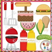 Summer Barbeque Designer Resource Graphic