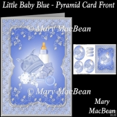 Little Baby Blue - Pyramid Card Front