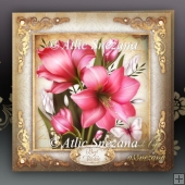 Vintage Soft Pink Flowers for All Occasions Card Mini Kit