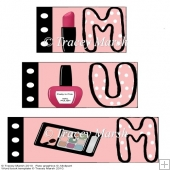 Mum Make-up Word Book Set