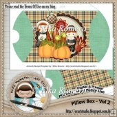 Pillow Box - Vol 2 (Thanksgiving)